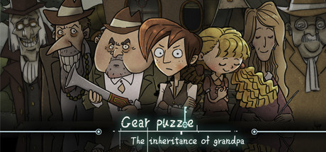 Gear Puzzle: the inheritance of grandpa