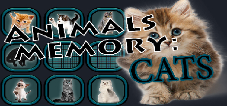 Animals Memory: Cats